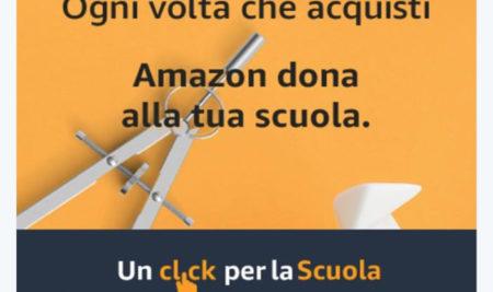 Un click per la scuola – da Amazon, direttamente sui banchi di scuola